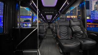 41 Passengers Luxury Bus Interior
