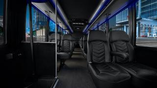 Executive Mini Coach Interior