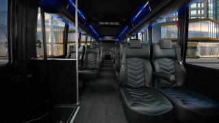 36 Passengers Luxury Bus Interior