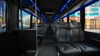 Executive Coach Interior